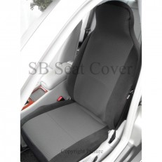 Anthracite Grey Cloth Fabric Car Seat Covers