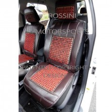 CAR SEAT COVERS BROWN ROSSINI MASSAGE BEAD