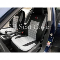 Car Seat Covers Grey VRX Full Set