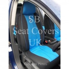 Car Seat Covers MAX Sports Blue Full Set