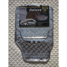 CARBON METALLIC PLATE PVC RUBBER CAR MATS