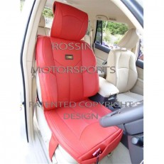 Car Seat Covers Rossini YMDX Red Leatherette