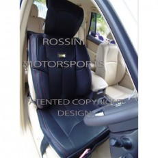 CAR SEAT COVERS ROSSINI YMDX BLACK LEATHERETTE