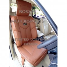 CAR SEAT COVERS ROSSINI YMDX TAN LEATHERETTE