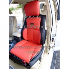 Car Seat Covers Rossini YS01 Red/Black Leatherette