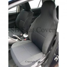 Yaro Cloth Fabric Seat Covers 2 Fronts