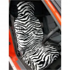 ZEBRA FLUFFY FAUX FUR FULL SET